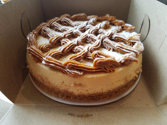 Oceanside, NY: Can you guess what this cheesecake is? Hint: the topping is creamy caramel...
