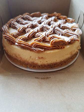 Oceanside, NY: If you guessed it...DULCE DE LECHE cheesecake, oh so good so delish! True latin flavors:-)