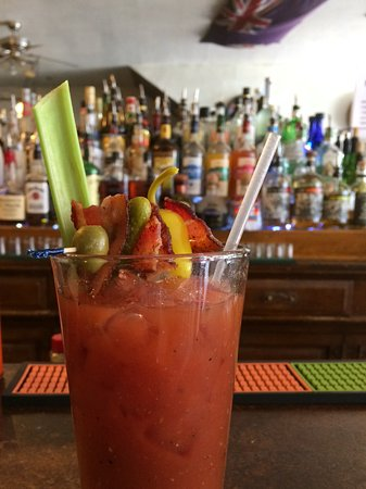 Rico, CO: Enterprise Bloody Mary...Baconator?