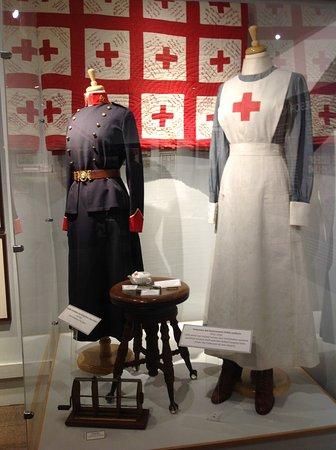 Langley Centennial Museum: Nurse uniforms