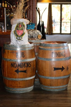 The Noble Pig Brewhouse: Casks