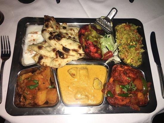 Rabbani Indian Restaurant: Meat Thali