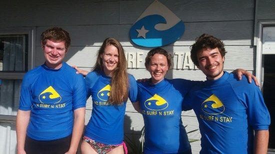 Coromandel Peninsula, New Zealand: Ready for surf lessons