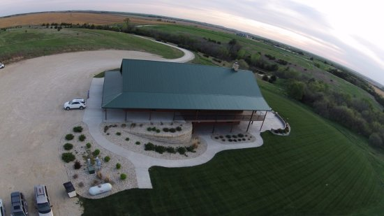 Clay Center, Κάνσας: Drone shot of venue