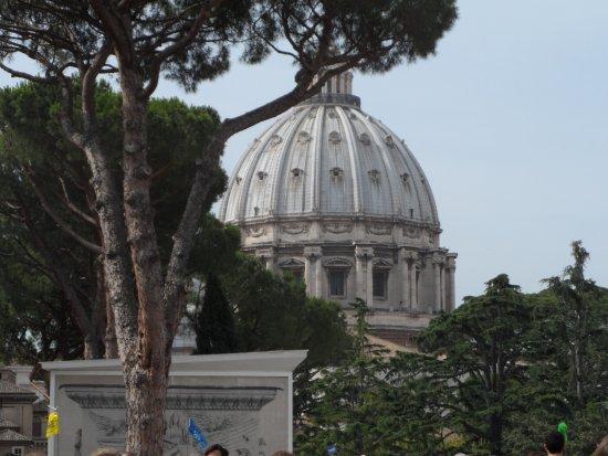 Walks Inside Rome: Photo of the Vatican Basillica Dome