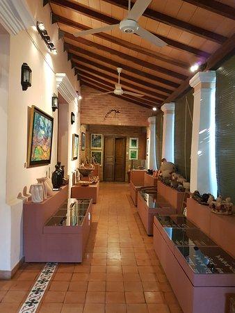 Aregua, ปารากวัย: una vista de la galeria de la casa