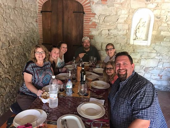 Azienda Agricola Casamonti: Dinner on the Farm, best meal we had!