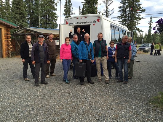 Tok, AK: A tour group staying with us.