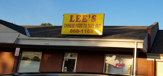 Fairfield, OH: Lee's Chinese Restaurant