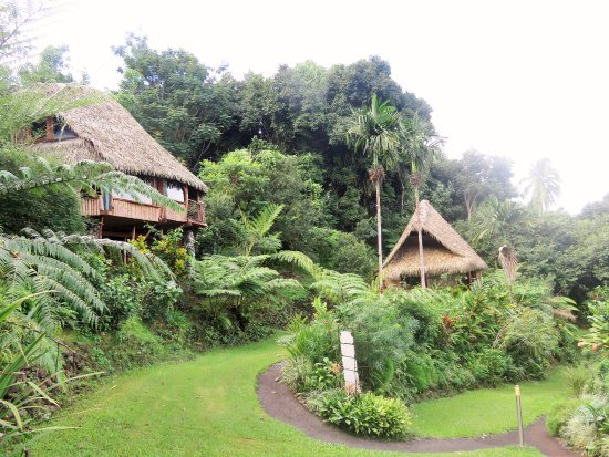 Vanira Lodge: View from Ofai bungalow