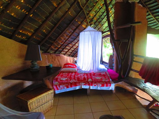 Teahupoo, Frans-Polynesië: 2nd bedroom open to the environment