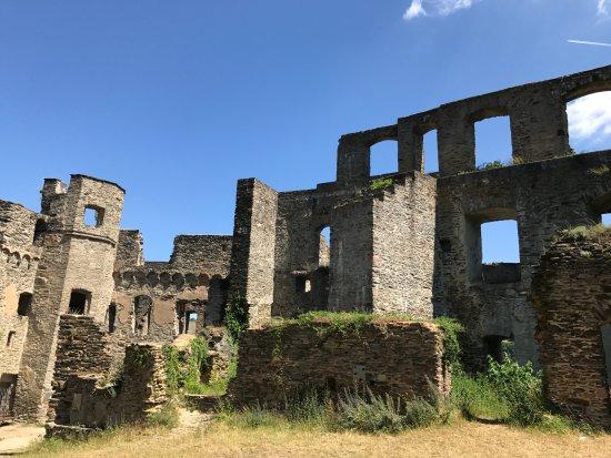 Hessen, Duitsland: Rheinfels Castle