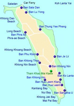 LANTA MAP Picture of Hub of Joys Hostel Ko Lanta TripAdvisor