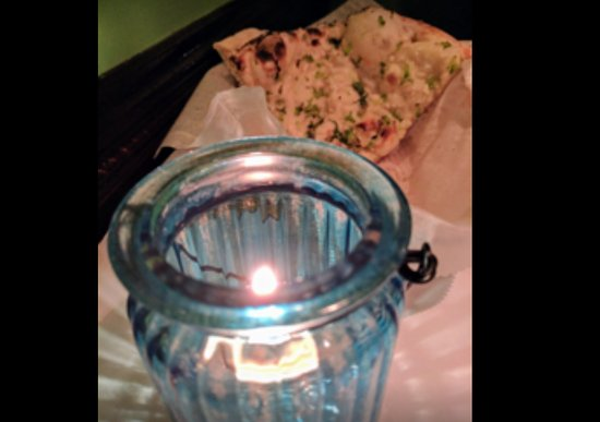 Vernon, CT: Delish naan by candlelight