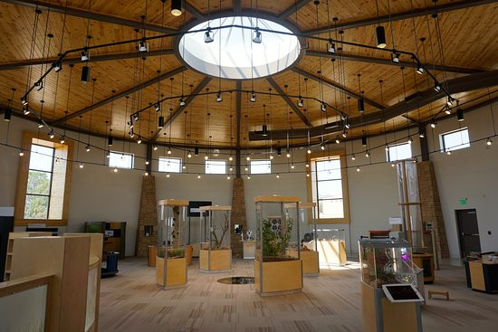 Monticello, UT: The main room of the children's museum