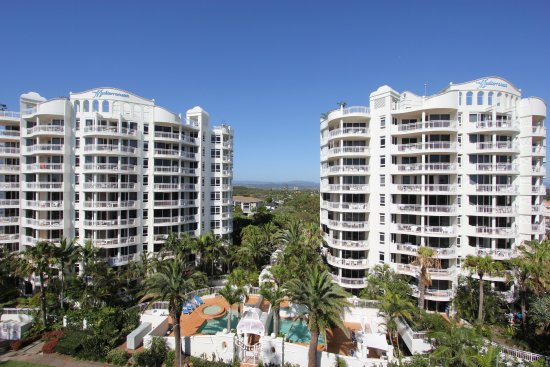 Window View - Picture of Burleigh Mediterranean Resort, Burleigh Heads - Tripadvisor