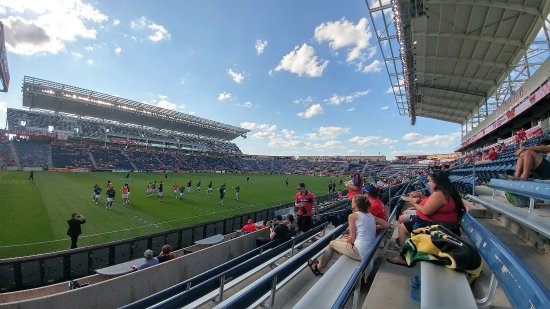 Toyota Park (Bridgeview Stadium) : from our seats