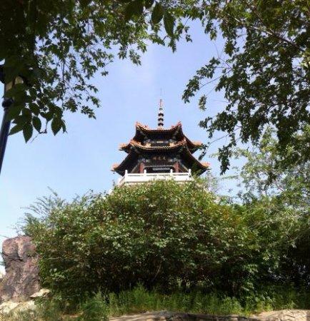 Qiqihar, จีน: 롱사공원 전망대