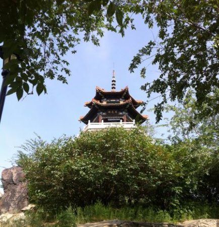 Qiqihar, China: 롱사공원 전망대