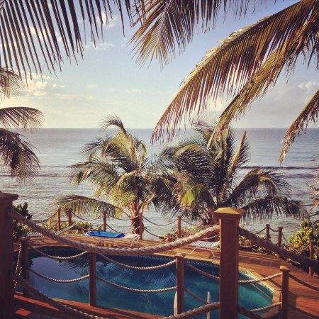Villa Margarita Pool view from Studio Room