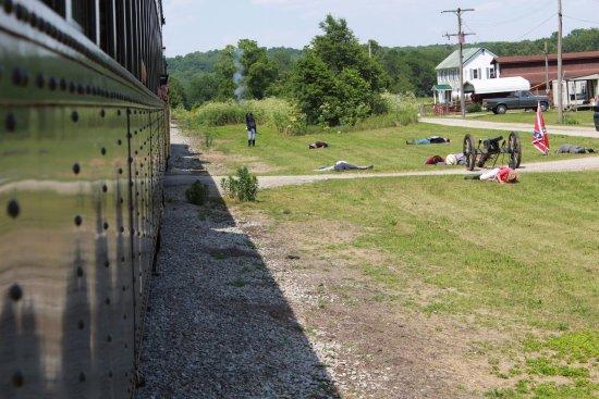 Connersville, อินเดียน่า: Whitewater Valley Railroad
