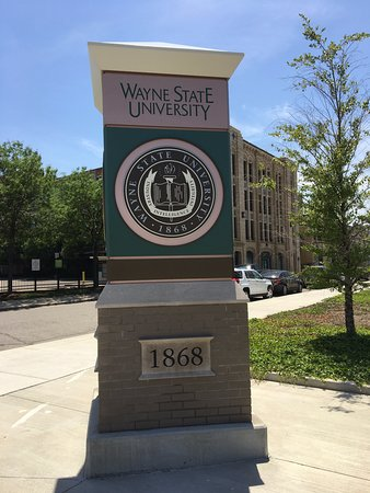 Wayne State University - Picture of Woodward Avenue, Detroit