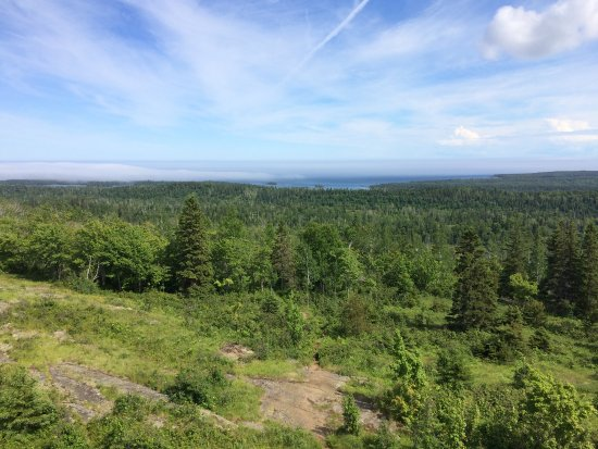 Isle Royale National Park, MI: View from the observation tower