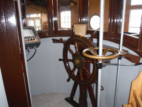 Campbell River, Canada: BCP 45 WHEEL HOUSE