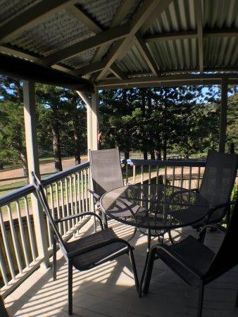 Tallebudgera, Australia: Historical Settlers Cottage Balcony