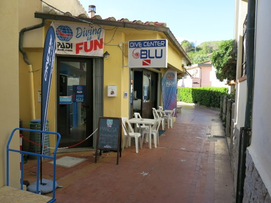 Marina di Campo, Italia: Dive Center Blu