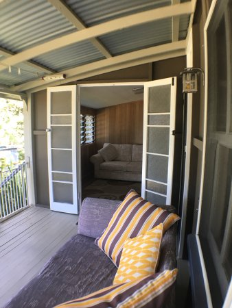 Tallebudgera, Австралия: Historical Settlers Cottage front Balcony