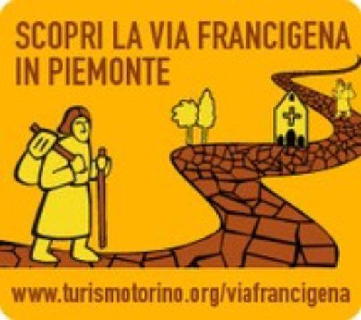 Quattordio, Italia: siamo sul percorso della Via Francigena in piemonte