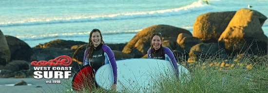 Westport, Selandia Baru: fun times at West Coast surf