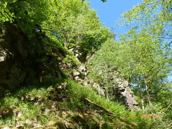 Skane County, Σουηδία: Wanderung gelbe Route