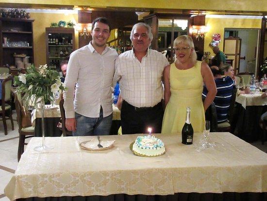 Hotel  Agostiniana: Compleanno Meraviglioso!!