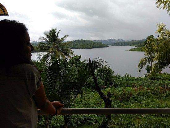 Vazhavatta, Inde : View from balcony