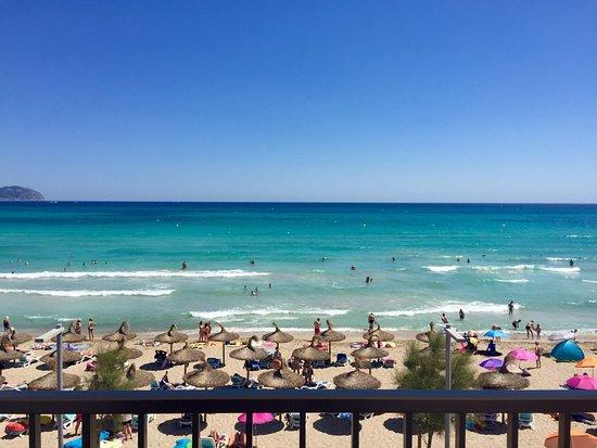 Hotel Sa Roqueta: Ausblick vom Zi 11