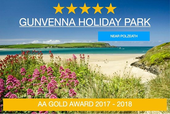 St Minver, UK: Gunvenna Holiday Park wins Gold Award form the AA