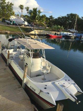 Cudjoe Key, ฟลอริด้า: Our rental boat