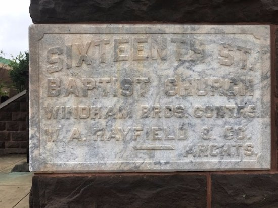 16th Street Baptist Church: Special Place