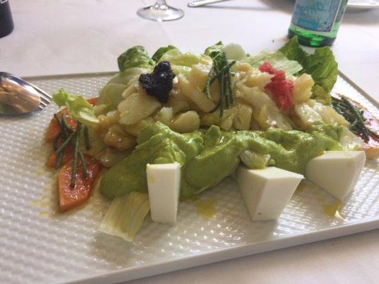La Castilleria: ensalada de vacalao