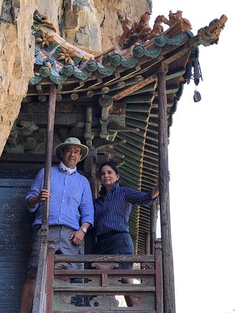 Datong, Cina: Hengshan Hanging Temple (Xuankong si)