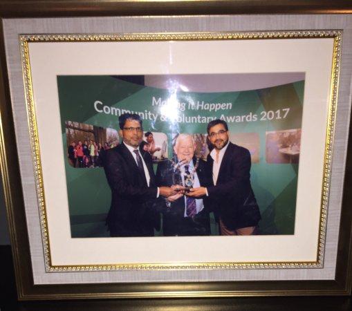 Swanley, UK: Best Business Award 2017