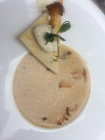 Schlosshotel Ingelfingen: Pfifferlingsuppe