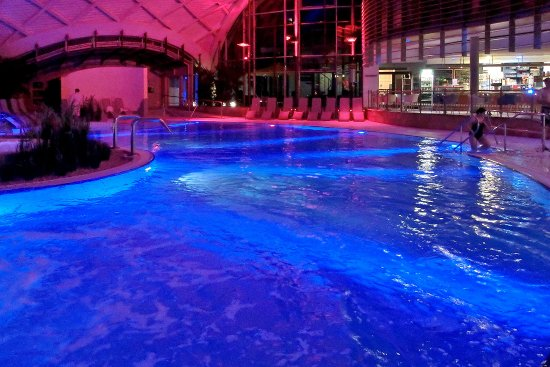 Bad Sulza, Tyskland: Abends in de Therme