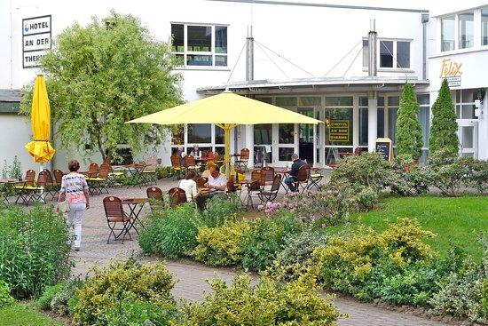 Bad Sulza, ألمانيا: Eingangsbereich des Hotels