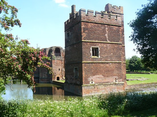 Kirby Muxloe, UK: North Tower & most complete part of Castle