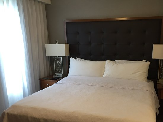 Homewood Suites Holyoke-Springfield/North: Comfortable king bed