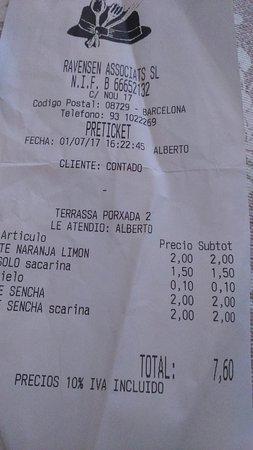 The Restaurant Picture Of El Barretet Castellet I La