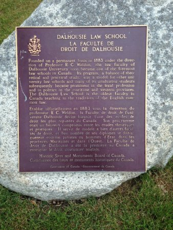 Dalhousie University: Outside the law school at Dal